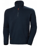 KENSINGTON 1/2 ZIP KNITTED FLEECE